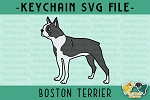 Boston Terrier SVG