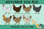 Chicken Hen Collection SVG