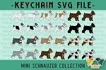 Mini Schnauzer Collection SVG