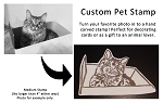 Custom Rubber Stamp - Hand Carved