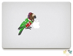Hawk Headed Parrot Vinyl Decals