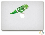 Lineolated Parakeet Vinyl Decals