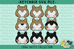 Corgi Butts Collection SVG