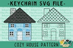 Cozy House Pattern SVG