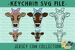 Jersey Cow Collection SVG