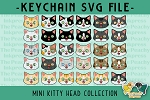 MINI Kitty Head Collection SVG