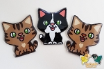 Kitty Acrylic Keychain