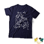 Unisex Navy Short Sleeve Shirt