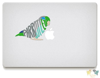 Parrotlet Vinyl Decals