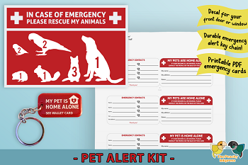 In Case of Emergency - Pet Alert Kit