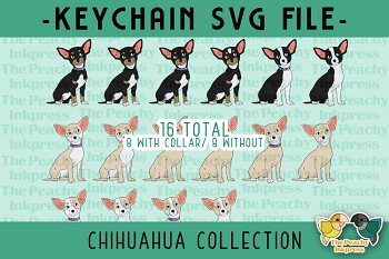 Chihuahua Collection SVG